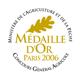 Rating Concours Général Agricole 2009 Goldmedaille