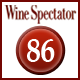 Rating Wine Spectator 86 Punkte