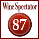 Rating Wine Spectator 87 Punkte