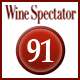 Rating Wine Spectator 91 Punkte