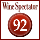 Rating Wine Spectator 92 Punkte