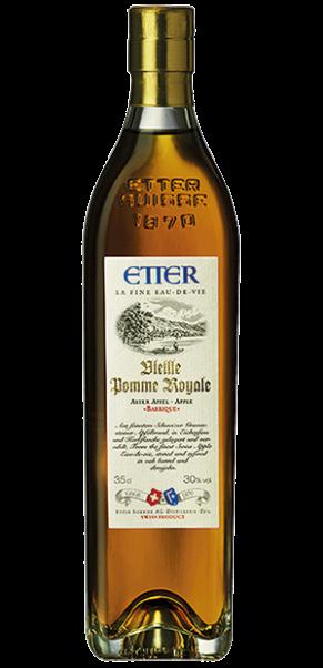 Brennerei Etter, Etter Vieille Pomme Royale (Alter Apfel) Barrique, Fruchtbrand