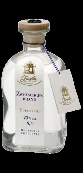 Ziegler, Zwetschgenbrand 43% | 0,70 l