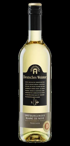 Deutsches Weintor, Spätburgunder Blanc de Noir trocken, QbA Pfalz