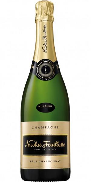 Champagner Nicolas Feuillatte, AC Champagne Brut, Chardonnay Millesime