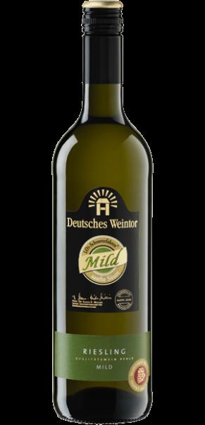 Deutsches Weintor, Riesling halbtrocken, Edition Mild, QbA Pfalz