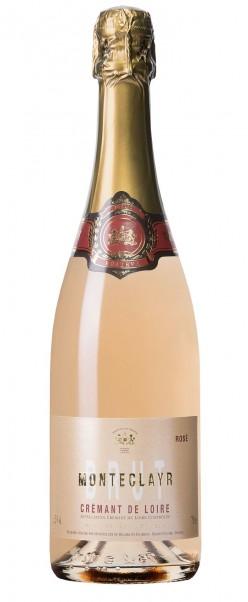 Monteclayr Crémant de Loire Rosé Brut, Bouvet Ladubay, AC Loire