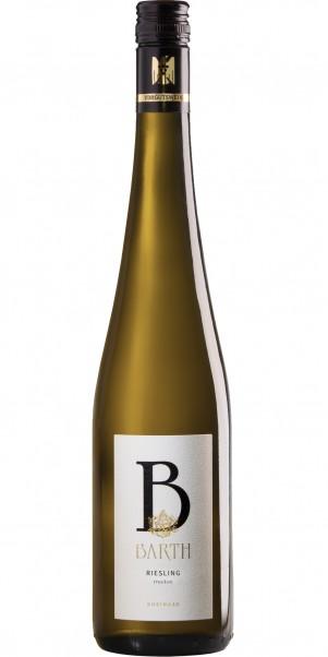 Wein-& Sektgut Barth, Riesling trocken ,QbA Rheingau