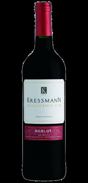 Kressmann Collection Sud Merlot, Vin de Pays d'Oc
