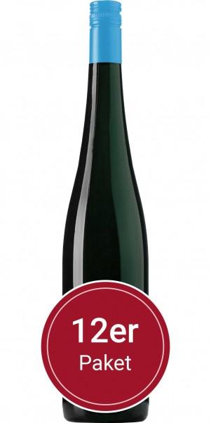 Sparpaket: 12 Flaschen Villa Huesgen, by the glass Riesling, QbA Mosel