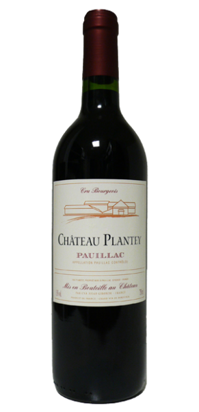 Château Plantey, AC Pauillac Cru Bourgeois