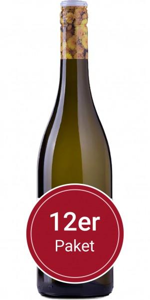 Sparpaket: 12 Flaschen Le Contesse, Bianco Frizzante, IGT Marca Trevigiana - Stelvin Verschluss