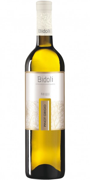 Bidoli, Pinot Grigio Grave del Friuli, DOC Friuli Grave