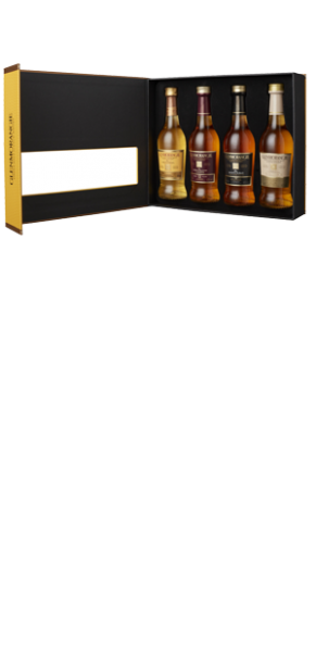 Glenmorangie Taster Pack 4 x 10cl Original + Extra Matured Range in Geschenpackung