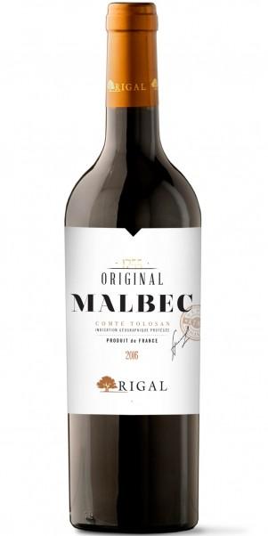 Domaines Rigal, Original Malbec, Vin de Pays du Comte Tolosan