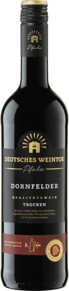 Deutsches Weintor, Dornfelder trocken, QbA Pfalz