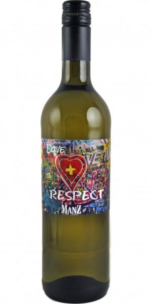 Manz, LOVE + RESPECT, Weisswein, QbA Rheinhessen