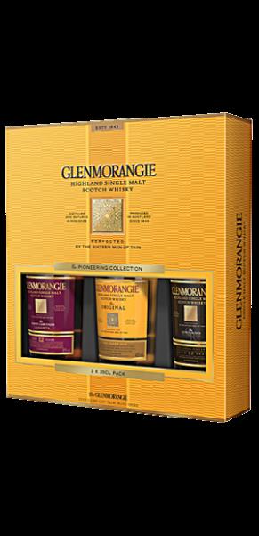 Glenmorangie Core Range 3 x 35cl -1 x Original + 2 x Extra Matured Range in Geschenpackung