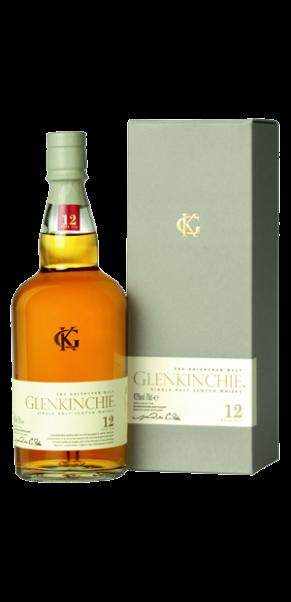 Glenkinchie 12 Jahre Lowland Whisky 43% in Geschenkschatulle
