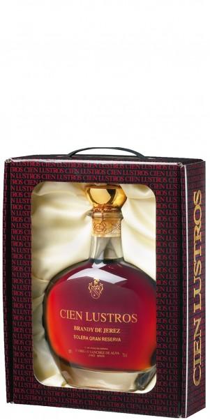Cien Lustros Brandy de Jerez Solera GRAN RESERVA, Sanches de Alba
