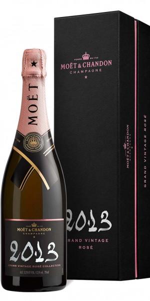 2009er Champagner Moét & Chandon Brut Grand Vintage Rose, 0,75-l-Fl in Geschenkschatulle