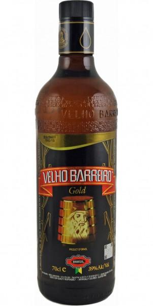 Velho Barreiro Cachaca GOLD 39%