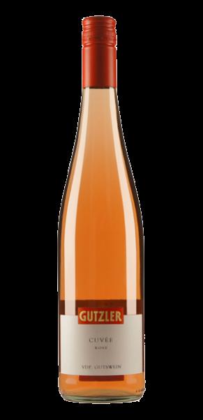Weingut Gutzler, Gutswein-Cuvée ROSE trocken, QbA Rheinhessen