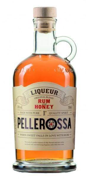 Marzadro, Pellerossa Rum and Honey - Honig Rum Likör 30%