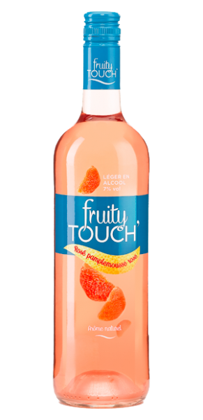 Fruity Touch Rosa Grapefruit - aromatisierter Roséwein 7% vol.