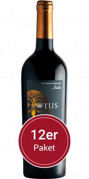 Sparpaket: 12 Flaschen Asio Otus Rosso, Vino Varietale d´Italia