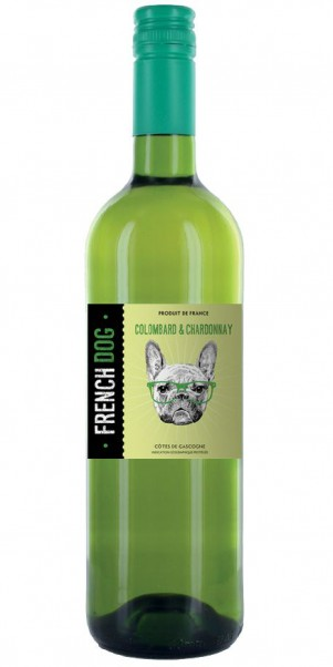 FRENCH DOG, Colombard Chardonnay, IGP Côtes de Gascogne