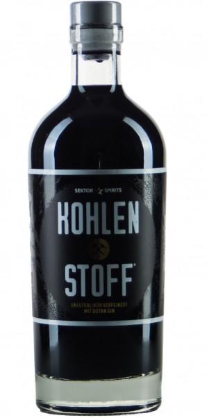 Sektor Spirits, KOHLENSTOFF - Kräuterlikör meets Gin 35%