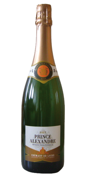 Crémant de Loire Blanc, Cuvée Prince Alexandre, AC Loire