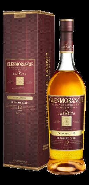 Glenmorangie Lasanta - Single Malt Whisky-Sherry Cask Extra Matured in Geschenkschatulle