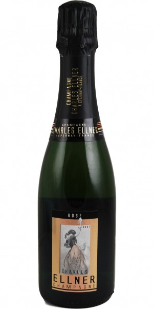 Champagner Ellner, Rosé Brut, AC Champagne 0,375 l