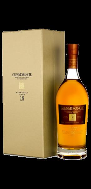 Glenmorangie Extremly Rare 18 Years Single Highland Malt in Geschenkschatulle