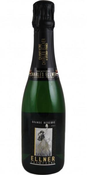 Champagner Ellner, Grande Reserve Brut, AC Champagne 0,375 l