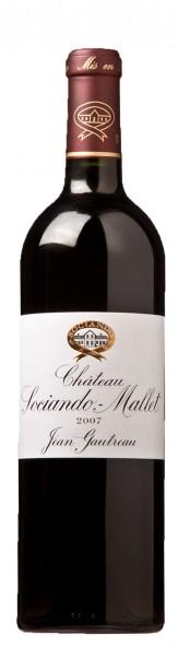 2007er Château Sociando Mallet, AC Cru Bourgeois Haut Medoc