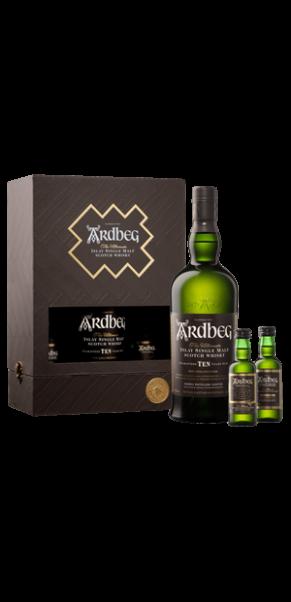 Ardbeg 10 Jahre, Islay Malt Whisky, 46%, EXPLORATION PACK in Geschenkschatulle