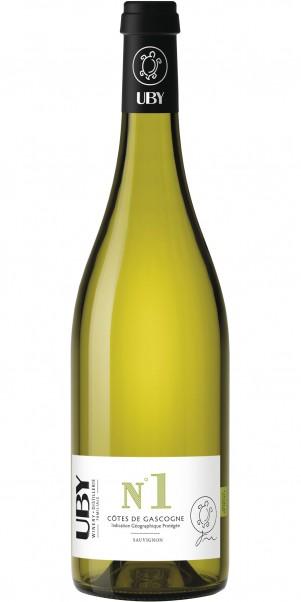 Domaine Uby, N° 1 Sauvignon Blanc, IGP Cotes de Gascogne