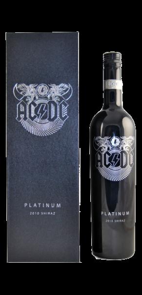 AC/DC Platinum Shiraz, Warburn Estate, Barossa Valley in Geschenkschatulle