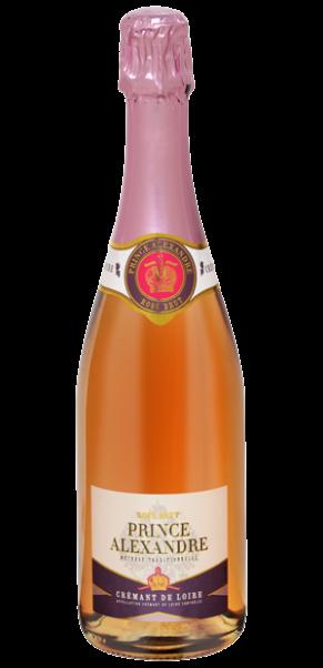 Crémant de Loire Rosé, Cuvée Prince Alexandre, AC Loire
