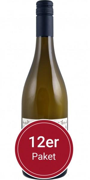 Sparpaket: 12 Flaschen Weingut Markus Schneider, Weissburgunder QbA, Pfalz