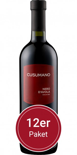 Sparpaket: 12 Flaschen Cusumano, Nero d'Avola, IGT Sicilia