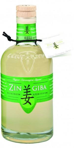 Zingiba, Ingwer-Zitronengras Likör 0,50 l