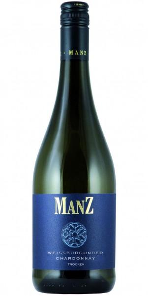 Manz, Chardonnay & Weissburgunder, QbA Rheinhessen