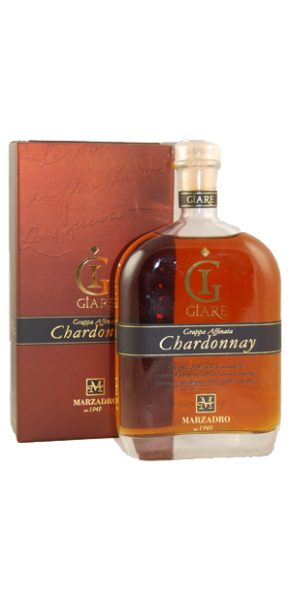 "Marzadro, Grappa Chardonnay ""Le Giare"" 0,7 l in Geschenkschatulle"