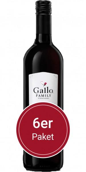 6 Flaschen 0,75l Gallo Family Vineyards, Zinfandel, Kalifornien