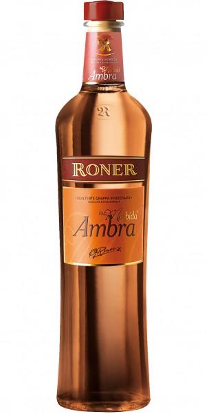 Edeldestillerie Roner, RONER Grappa Ambra La Morbida 40%