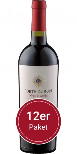 Sparpaket: 12 Flaschen Corte Dei Mori, Terre Siciliane Nero d'Avola, IGP Sicilia, IGP Sicilia